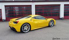 Niewiele potrzeba by z sukcesem odmienić swój samochód  B    Nawet w przypadku Ferrari - odpowiedni zestaw kół (w tym przypadku Novitec Rosso NF4) oraz delikatne obniżenie zapewniają olbrzymią poprawę wyglądu!  GranSport - Luxury Tuning & Concierge http://gransport.pl/index.php/novitec.html