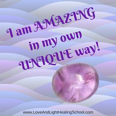 I am AMAZING in my own UNIQUE way!