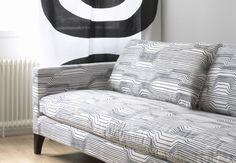 love me some of this, marimekko upholstery.