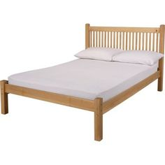 Avebury Small Double Bed Frame - Oak Stain.