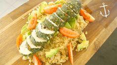 Chicken roulade with quinoa – Bondi Harvest video recipe