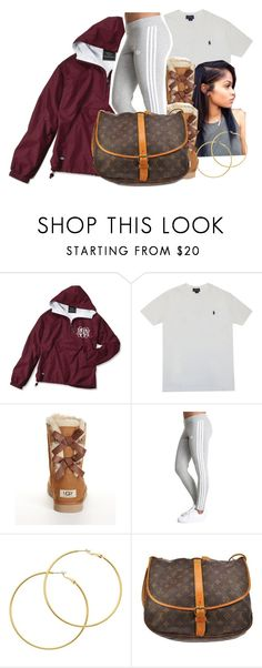 """""""2/5/16"""" by xtaymaxlovesxmisfitx ❤ liked on Polyvore featuring Polo Ralph Lauren, UGG Australia, Melissa Odabash, Louis Vuitton, women's clothing, women, female, woman, misses and juniors"""