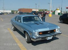 1973 Chevy Nova we have one now its clean and easy to drive, fun! We have another one too project car and its red!