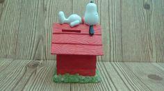 Snoopy Bank  Peanuts Bank  Vintage Bank  by TheLonelyWonderland