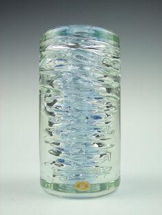 Skrdlovice glass vase. Designed by Frantisek Vízner