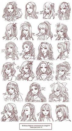 Type de coiffure