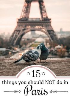 15 mistakes you easily make in Paris - and how to avoid them! Avoid those 15 biggest tourist traps in Paris and profit from our local tips and advices. Paris Travel Tips for everyone that wants to experience Paris like a lokal. Get to know the Paris tips