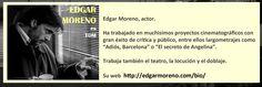 Edgar Moreno en #marmuerto