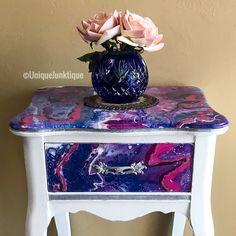 Acrylic Pour Acrylic Pouring Acrylic Pour On Dresser