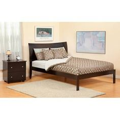 Darby Home Co Kaye Upholstered Panel Headboard & Reviews | Wayfair King Size Headboard, Wingback Headboard, Panel Headboard, Queen Canopy Bed, Atlantic Furniture, Adjustable Beds, Bed Styling, Online Furniture, Bed Frame