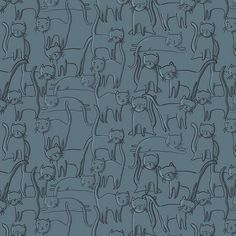 cat swamp (pattern swatch) | Flickr - Photo Sharing!