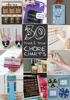 30 tried and true chore chart methods