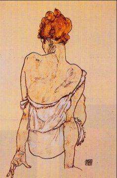 SCHIELE Egon - Austrian (Tulln 1890 - 1918 Vienna)