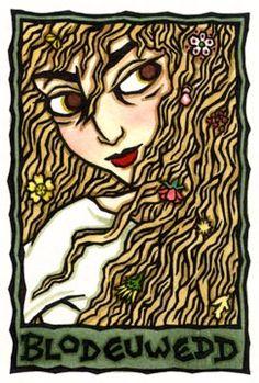 Blodeuwedd, Welsh Spring and Owl Goddess