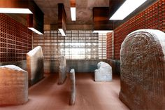Megalithic Dolmen in Seró, (Spain). Project by the architecture studio Toni Gironés Saderra.