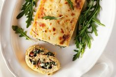 Let this soft, cheesy and delicious vegetarian roulade take centre stage at your dinner party.