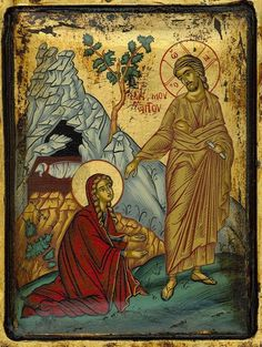 icon religious art \ icon religious + icon religious modern + icon religious orthodox christianity + icon religious russian + icon religious art + icon religious beautiful + icon religious madonna and child + icon religious the nativity Religious Images, Religious Icons, Religious Art, Byzantine Icons, Byzantine Art, Catholic Art, Catholic Saints, Maria Magdalena, Noli Me Tangere