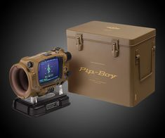 Pip-Boy: Deluxe Bluetooth Edition - https://interwebs.store/pip-boy-deluxe-bluetooth-edition/ #Gear+Gadgets