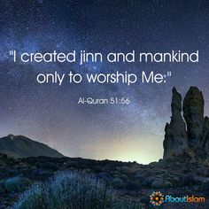 We are created to worship Allah. Allah Islam, Islam Quran, Islamic Teachings, Islamic Quotes, Hadith, Alhamdulillah, Quran Karim, Beautiful Verses, Noble Quran