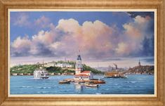 Murat Ersin – Hobbies paining body for kids and adult Glue Painting, Acrylic Pouring, Lighthouse, Most Beautiful Pictures, Framed Art, Istanbul, Stained Glass, Deco, Image