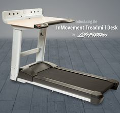 InMovement Treadmill Desk by Life Fitness
