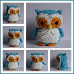 crochet owl - one day i will be making this!!!