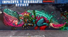 NacHo Wm x @Farid_Rueda x Mase 7 Street Art in Morelia, Mexico  #graffiti #streetart
