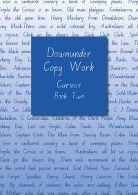 Downunder Copywork Book Two Cursive NSW Foundation