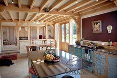 Organic Country Oak Barn In Sussex - Oakmasters