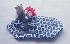 Serviettes de table - Lot de 6 Couture, Sunglasses Case, Creations, Etsy, France, Napkin, Blue Tables, Blue Patterns, Towels