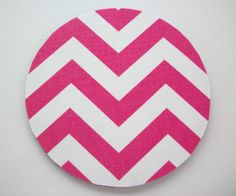 Mouse-PAD-Mat-MousePad-Round-CHEVRON-zig-zag-Different-colors-oped