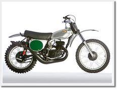 Vintage Honda Elsinore Dirt Bike...