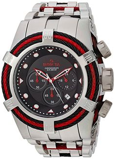 45b2a8a8c54 Amazon.com  Invicta Men s  Bolt  Quartz Stainless Steel Casual Watch