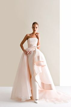 Characterized by luxurious fabrics, unconventional colors, unique detailing and silhouettes, the latest bridal collection of Antonio Riva wedding dresses is bold, creative and modern. Take a look and happy pinning! Bridal Collection, Dress Collection, Dress Vestidos, Mod Wedding, Wedding Ideas, Trendy Wedding, Wedding Story, Perfect Wedding, Wedding Planning
