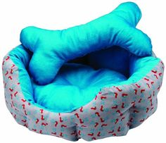 Charlie Blue Single Pet Bed By Pet In A Bag Small -- You can find more details by visiting the image link.