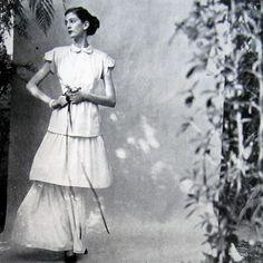April 15, 1947 Vogue Magazine. Photographer: Frances McLaughlin.