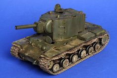 KV-2 - Trumpeter 1:35 Step by Step painting. - planetArmor
