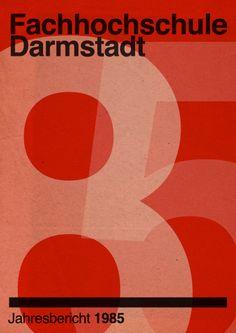 Fachhochschule Darmstadt Jahresbericht 1985