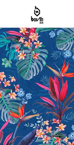 Wallpaper whatsapp flowers tropical prints Ideas for 2019 Flower Backgrounds, Flower Wallpaper, Pattern Wallpaper, Wallpaper Wallpapers, Tropical Design, Tropical Pattern, Tropical Prints, Tropical Art, Motif Floral