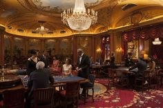 Don your tux and ballgown at The Ritz Club Casino, London