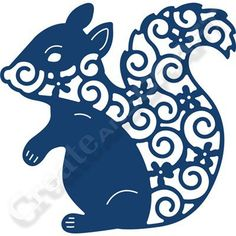 Tattered Lace Squirrel Die (354095) | Create and Craft