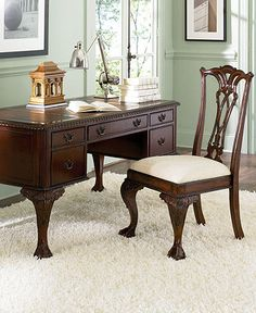 High Quality Macys.com, Ball U0026 Claw Home Office Furniture, Reg. $1,698.00 Was $999.00