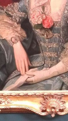 Detail of portrait, Holbourne Museum