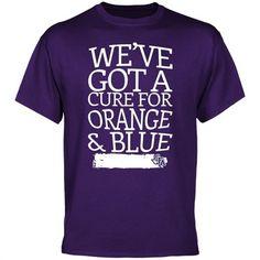 Stephen F Austin Lumberjacks Cure T-Shirt - Purple