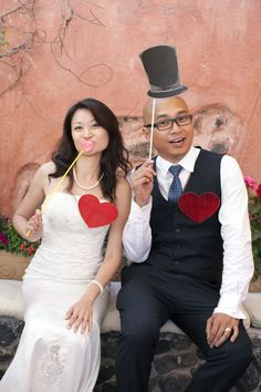 Funny Bride and Groom Poses