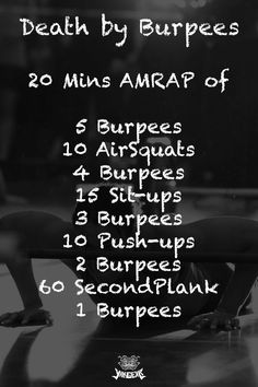 Fitness Workouts, Hiit Workouts For Men, Crossfit Workouts At Home, Crossfit Body, Amrap Crossfit, Amrap Workout, Monday Workout, Weekly Workout Plans, Conditioning Workouts