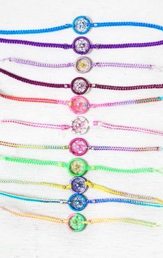 dreamcatcher bracelet | Treasure Blue Dreamcatcher Bracelet | girly stuff
