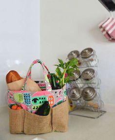 ベジタブルトート | コッカファブリック・ドットコム|布から始まる楽しい暮らし|kokka-fabric.com
