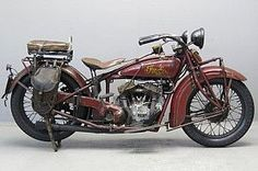 Indian 1929 101 Scout 750cc 2 cyl sv  2607