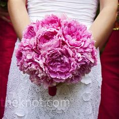 Really like this bouquet overall--size, fullness...And I think those are cabbage roses, maybe?
